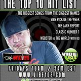 The Top 10 Hit List - The Top 10 Hit List (October 28, 2016) Cover Art