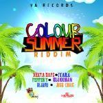 TSNR None-Stop Ent ® - Colour Summer Riddim (Instrumental) Cover Art