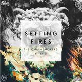 High Quality Music - Setting Fires (CLXRB x Nath Jennings Bootleg) Cover Art