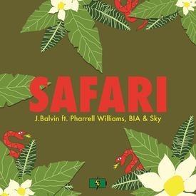 J Balvin Ft. Pharrell Williams, BIA & Sky-Safari (DJ UBeatz Percapella)