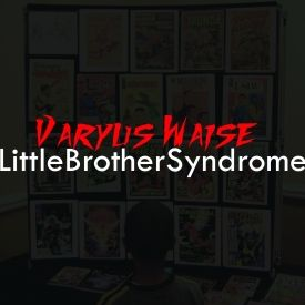"Varyus Waise - ""Little Brother Syndrome"" Cover Art"