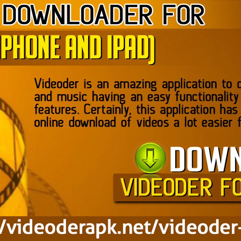 Videoder Downloader For IOS Users (IPhone And IPad) by