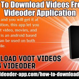 videoderdownload - Download YouTube Videos Using Videoder