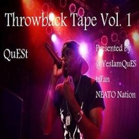 Visionary Music Group - Throwback Tape Vol. 1 Cover Art