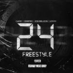 Visionary Music Group - 24 Freestyle Ft. QuESt, Castro, Jon Bellion & Logic Cover Art