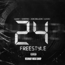 24 Freestyle Ft. QuESt, Castro, Jon Bellion & Logic
