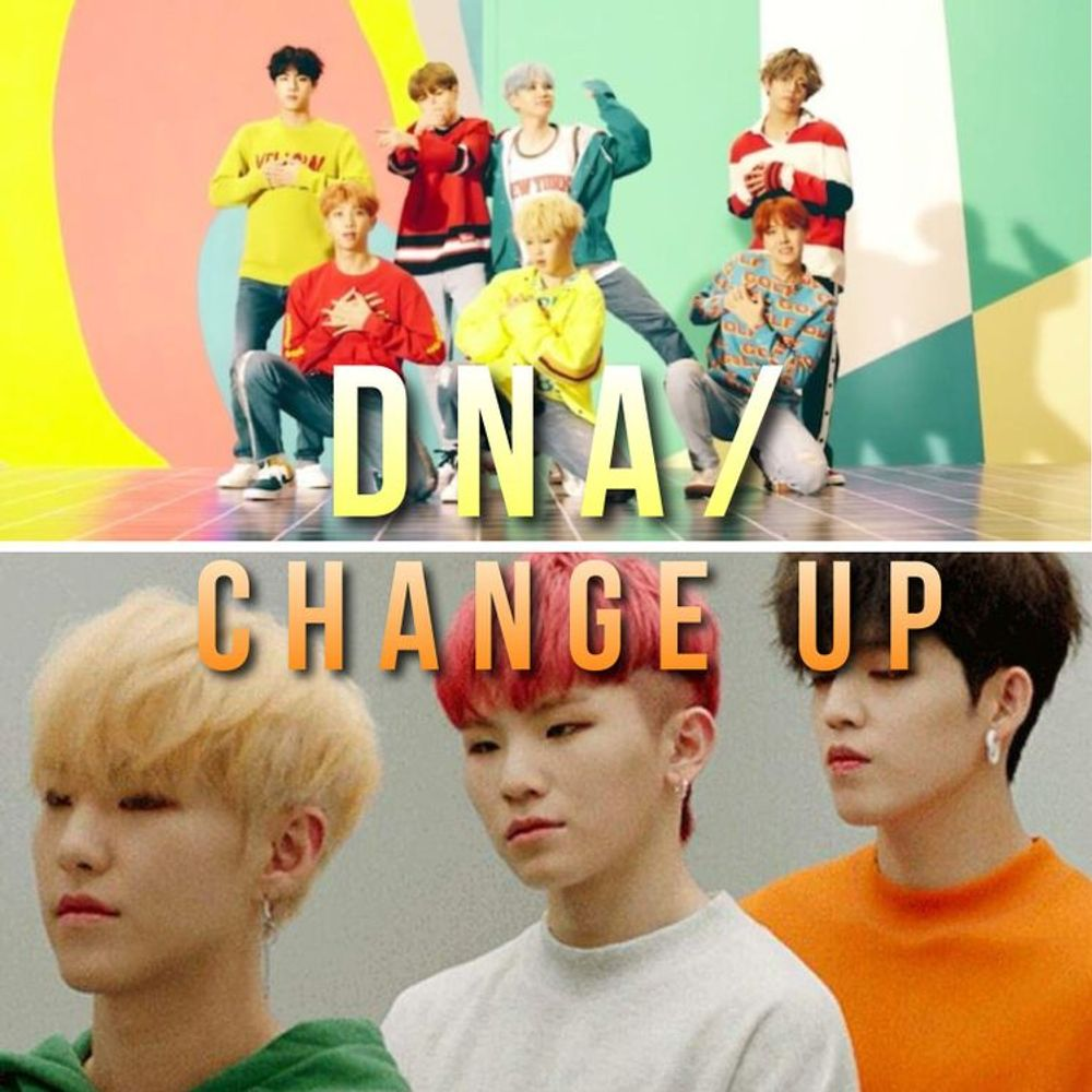 DNA/ Change Up (Mashup) by BTS X SEVENTEEN from vivii k