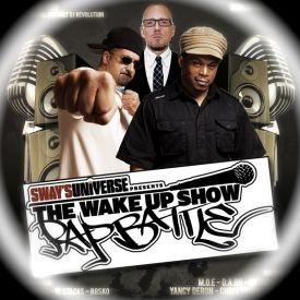 wake up show / rap battle winners + tribute to saafir