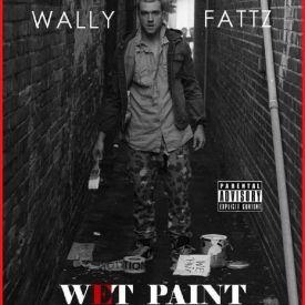 WALLY FATTZ - WET PAINT Cover Art