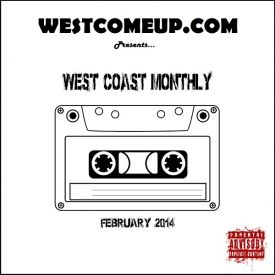 WestComeUp - West Coast Monthly Cover Art