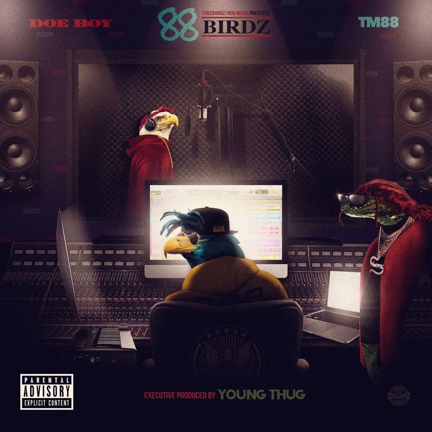 88 Birdz by Doe Boy & TM88, from RAPSTAR: Listen for Free
