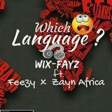 wixfayz - Which Language (ft. Feezy x Zayn Africa) Cover Art