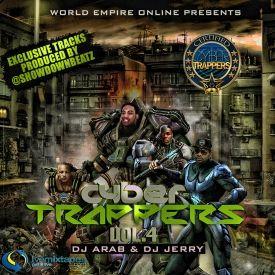 World Empire Online - World Empire Online Presents Cybertrappers Vol. 4 Hosted By Showdown Beatz Mixed Dj Jerry Dj Arab Cover Art