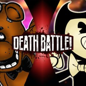 nightcore fnaf vs BATIM rap 3
