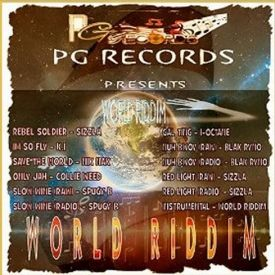 Yardlink254 Records - WORLD RIDDIM [FULL PROMO] - PG RECORDS - 2014 Cover Art