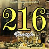 Young Goldie - 216 Freestyle Cover Art