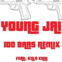 Young Jai - 100 Bars REMIX Cover Art