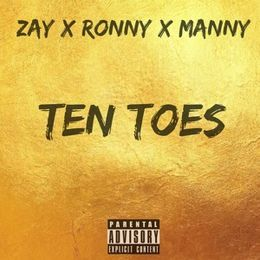 Zaymbm - Ten Toes Ft Ronny x Manny Cover Art
