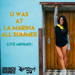 ZEEMUFFIN - U Was At La Marina All Summer Cover Art