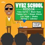 Zj Liquid/ H2O Records JA - VYBZ SCHOOL RIDDIM Cover Art