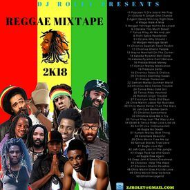 DJ ROLEY PRESENTS REGGAE MIXTAPE 2K18